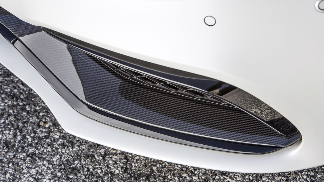 2017 Mercedes-AMG C63 S Cabriolet front fascia