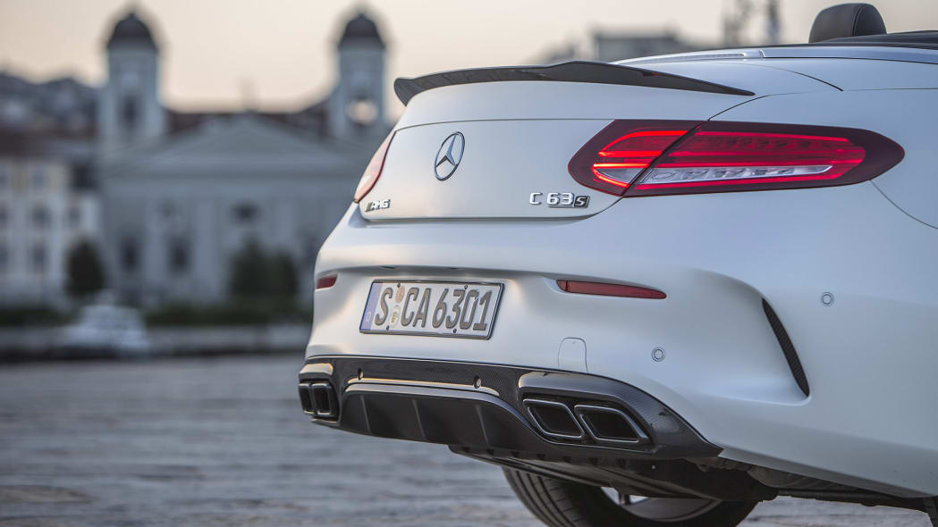 2017 Mercedes-AMG C63 S Cabriolet rear detail