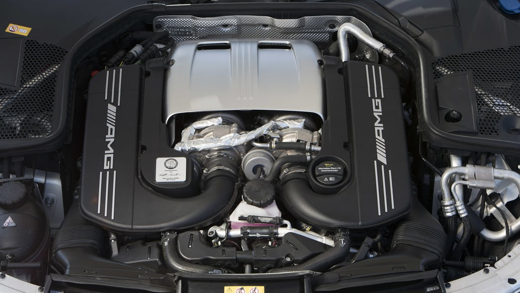 2017 Mercedes-AMG C63 S Cabriolet engine