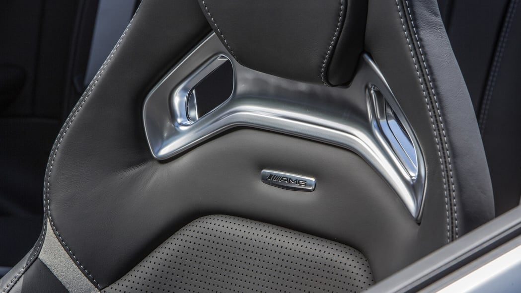 2017 Mercedes-AMG C63 S Cabriolet front seat