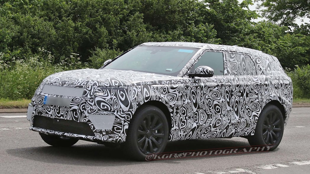 Land Rover Range Rover Sport Coupe side
