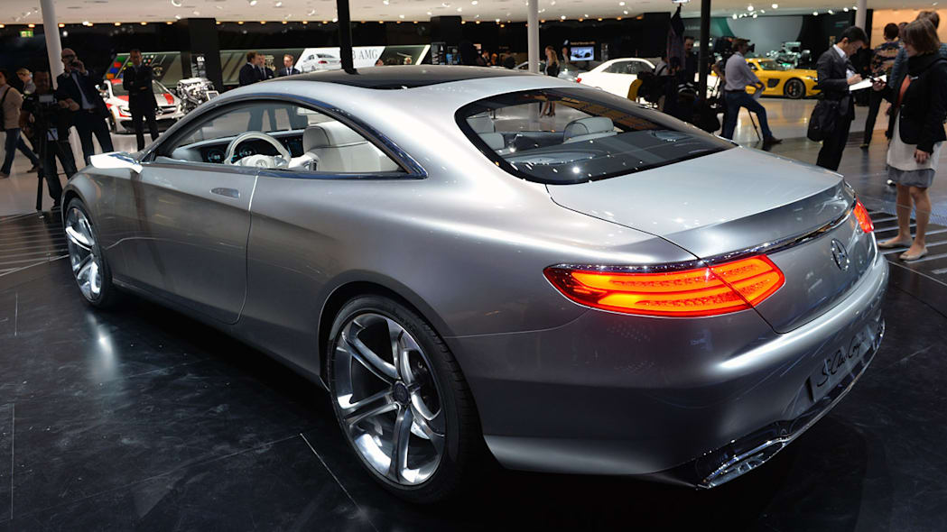 Mercedes Concept S-Class Coupe is two-door indulgence [w/videos]