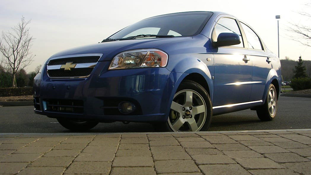 GM Recalls 218,000 Chevy Aveo Models Over Fire-prone