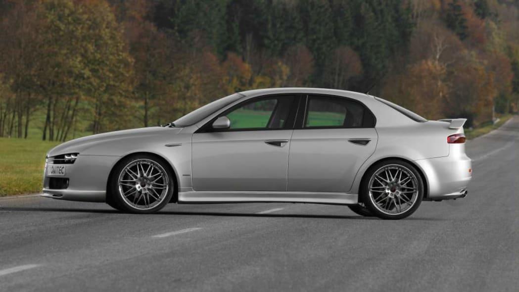 Sharp Gets Sharper Novitec Alfa Romeo 159 Autoblog