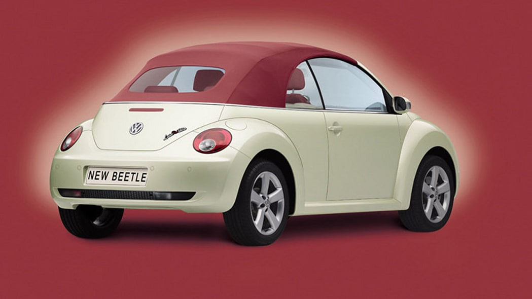 Vw Beetle Gets Special Red Top Autoblog