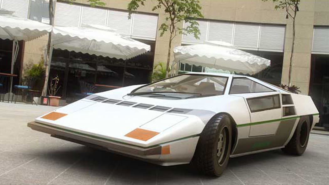 The Japanese supercar that almost was - the Dome Zero ...