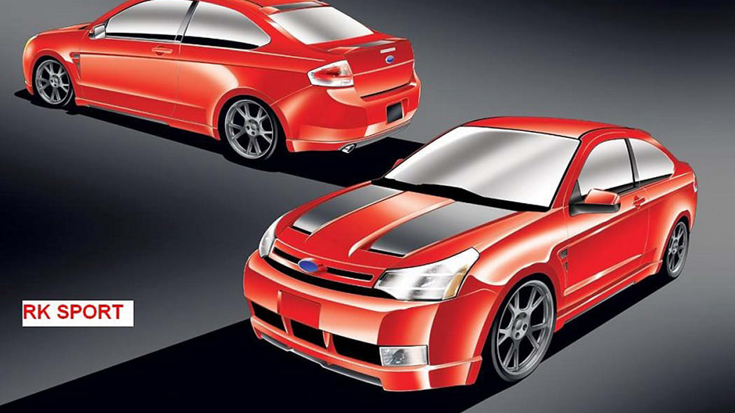 2008 Ford Focus by RKSport, Inc.