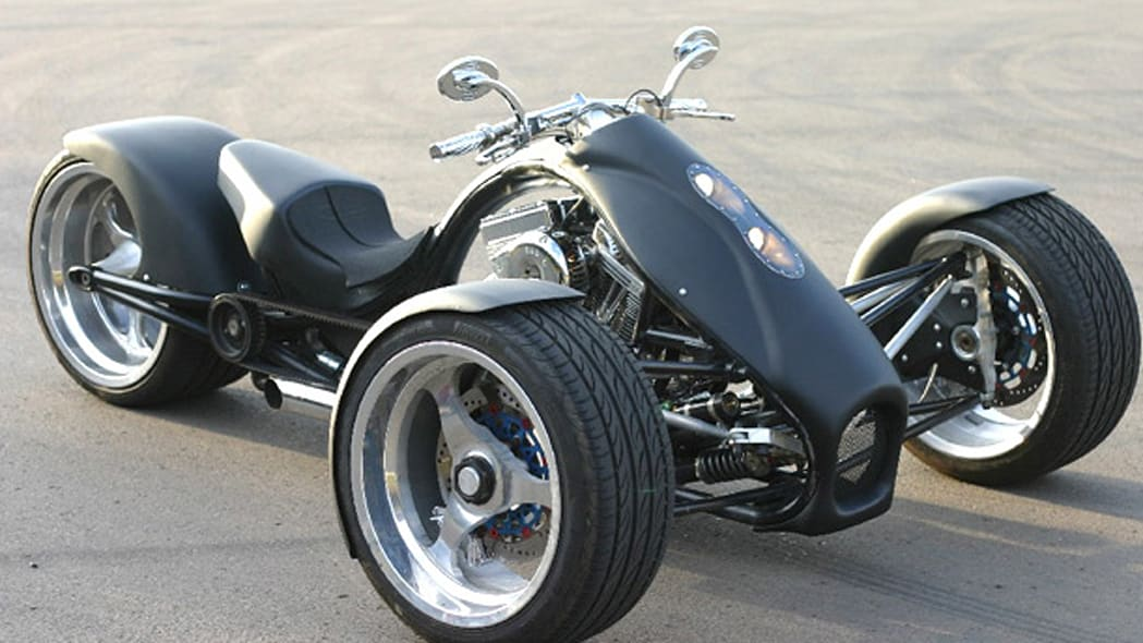 TriRod Motorcycles introduces the new F3 Adrenaline Trike - Autoblog