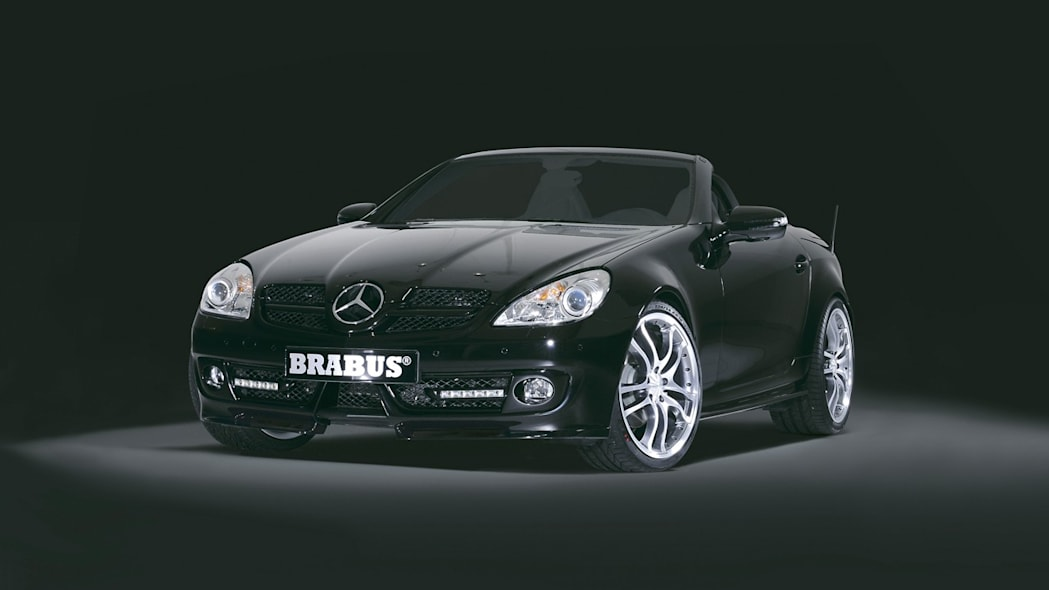 Brabus turns up the heat on the new Mercedes-Benz SLK ...