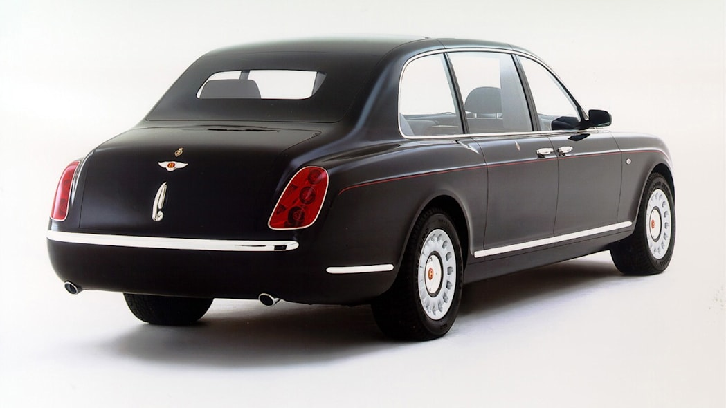 On Her Majesty's Service: 2002 Bentley State Limousine ...