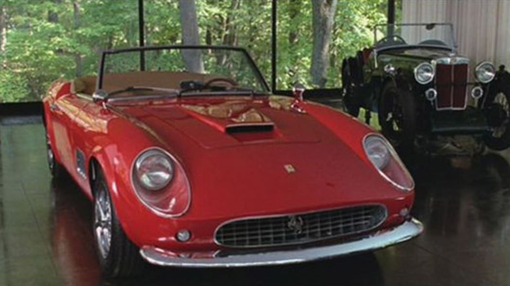 Ferrari 250 GT California Spyder replica from Ferris Beuller's Day Off