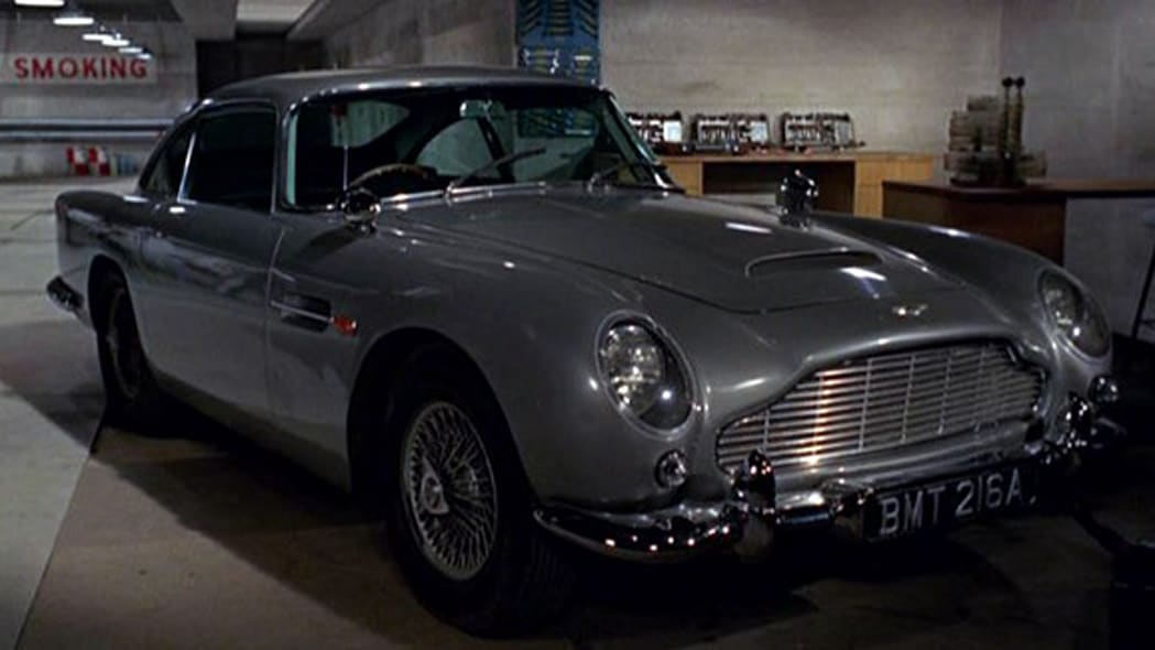 Aston Martin DB5 from James Bond