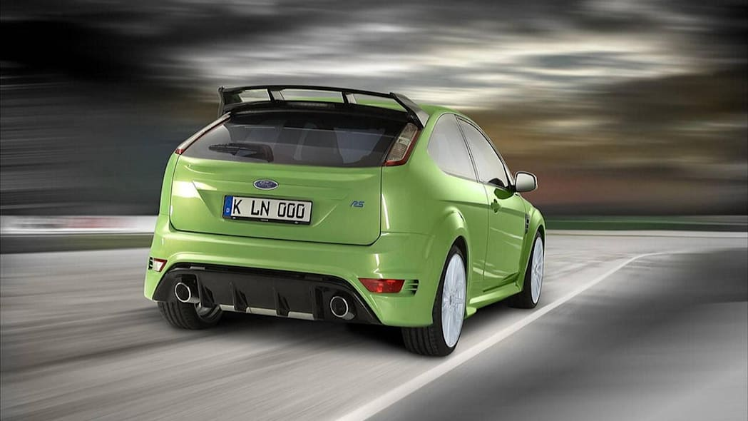 2009 Ford Focus Rs Photo Gallery