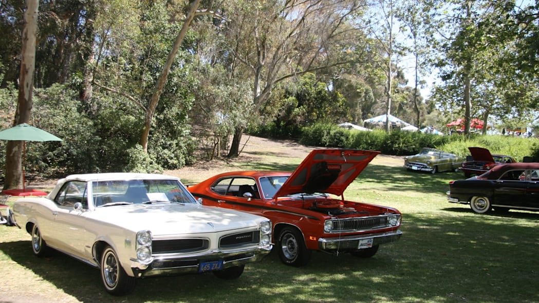 Pontiac Catalina and Plymouth Duster