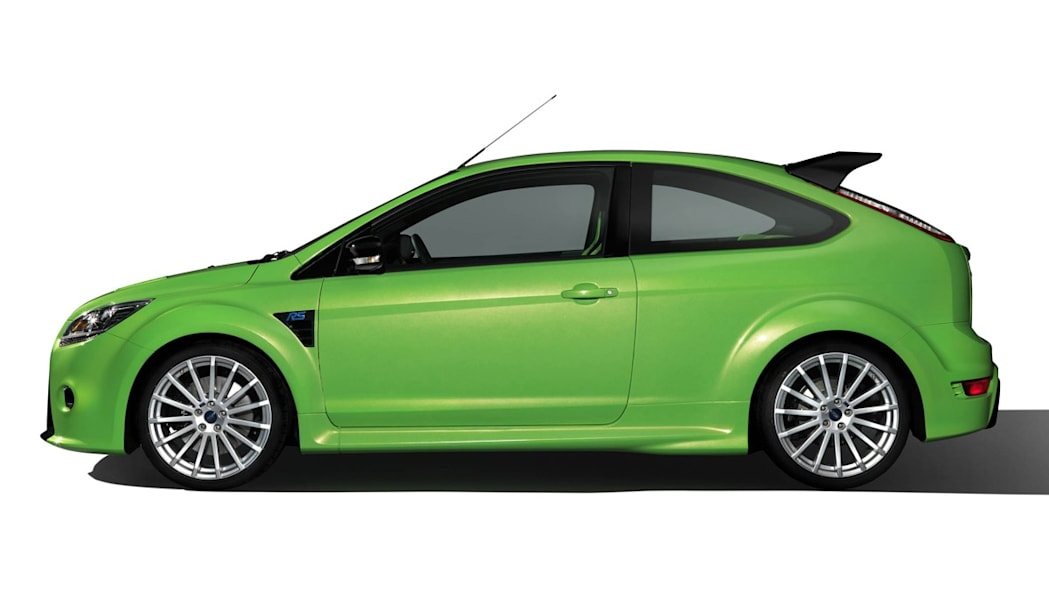 2009 Ford Focus Rs  Green  Aug 8  2013 Photo Gallery