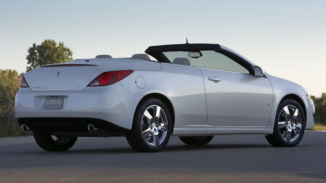 2009 5 Pontiac G6 Sedan Coupe And Convertible Get
