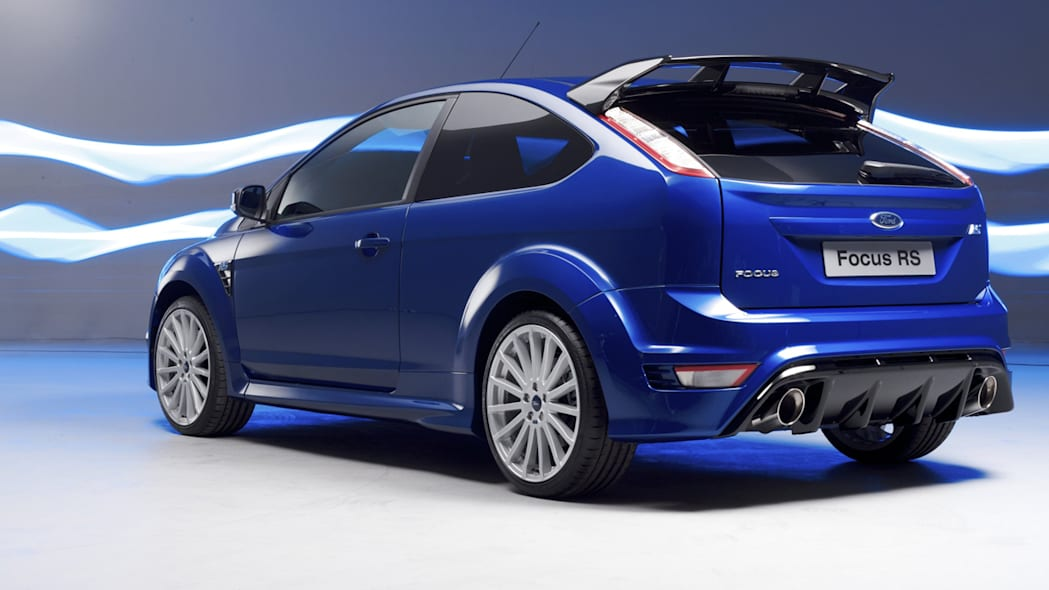 2009 Ford Focus Rs  Blue  Photo Gallery