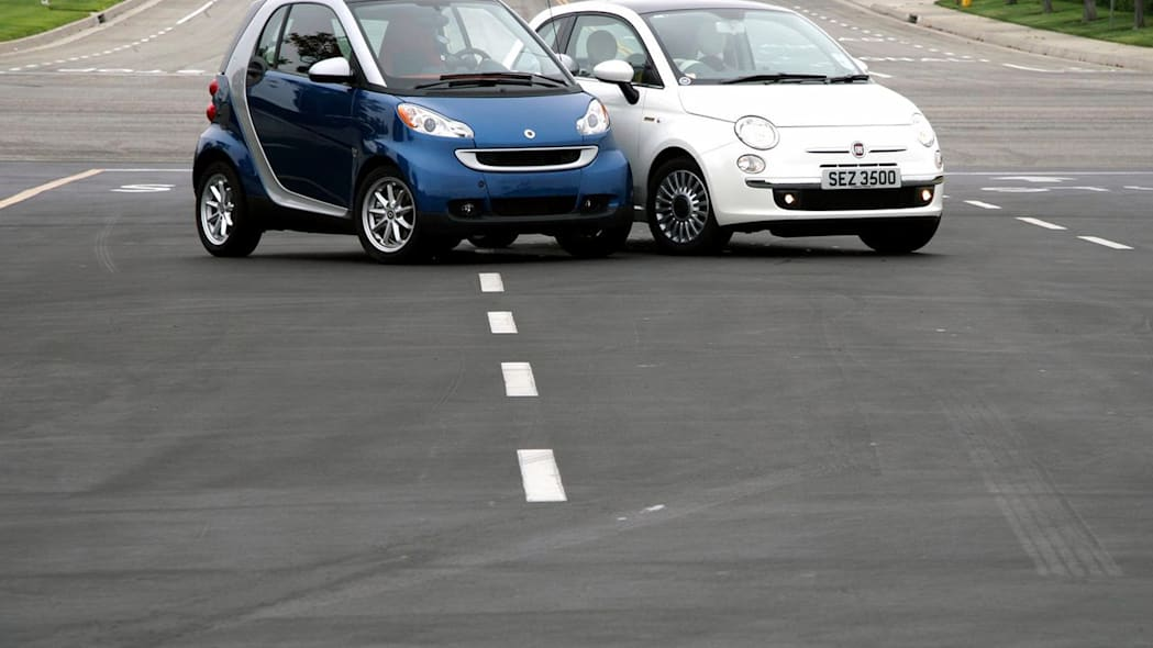 Smart ForTwo and Fiat 500