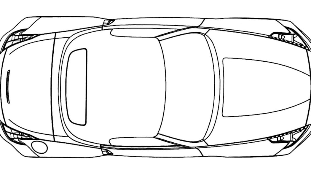 leaked  nissan 370z roadster patent drawings
