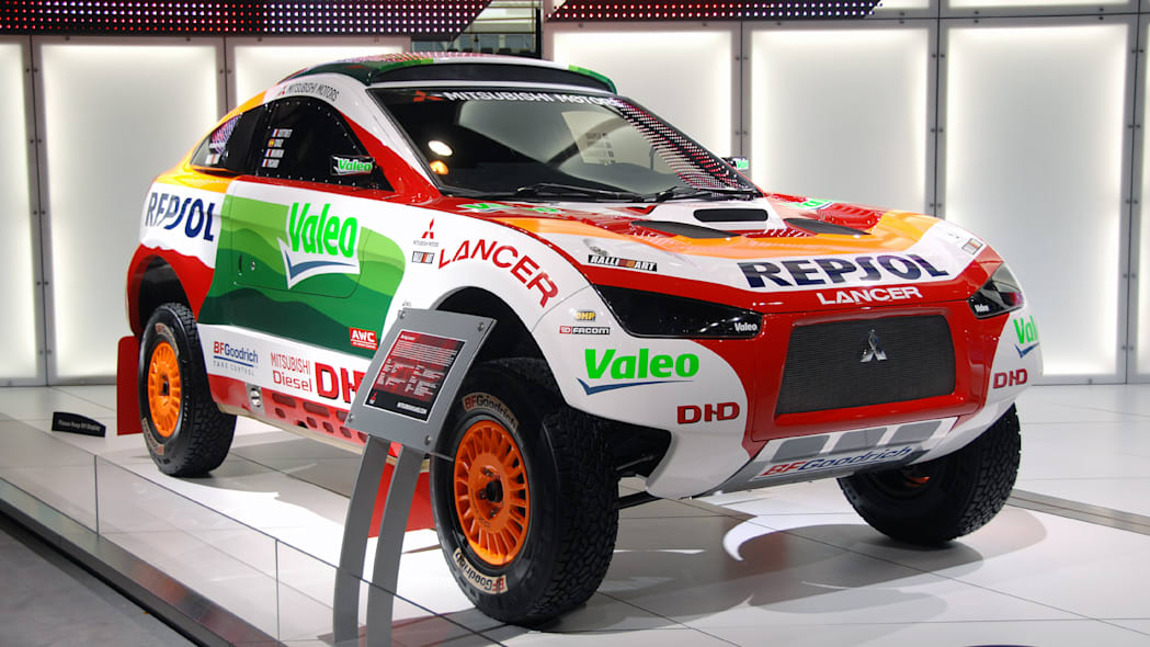 Mitsubishi Ralliart Racing Lancer