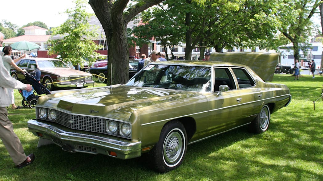 1973 Chevy Impala (factory airbags car)