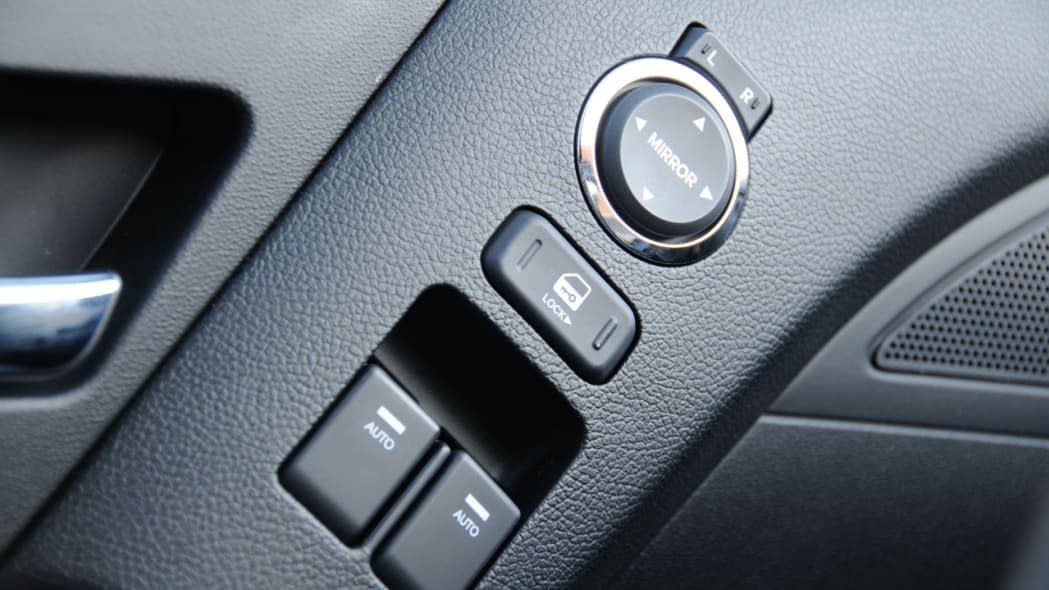 Power windows that auto-down but not up
