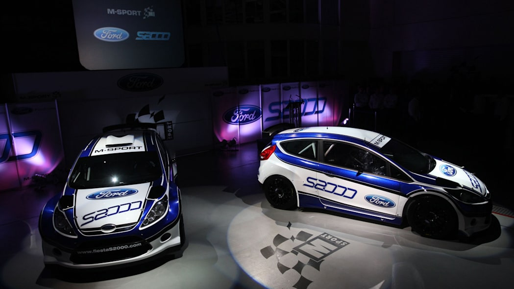 ford   sport officially unveil fiesta  rally car wvideo autoblog