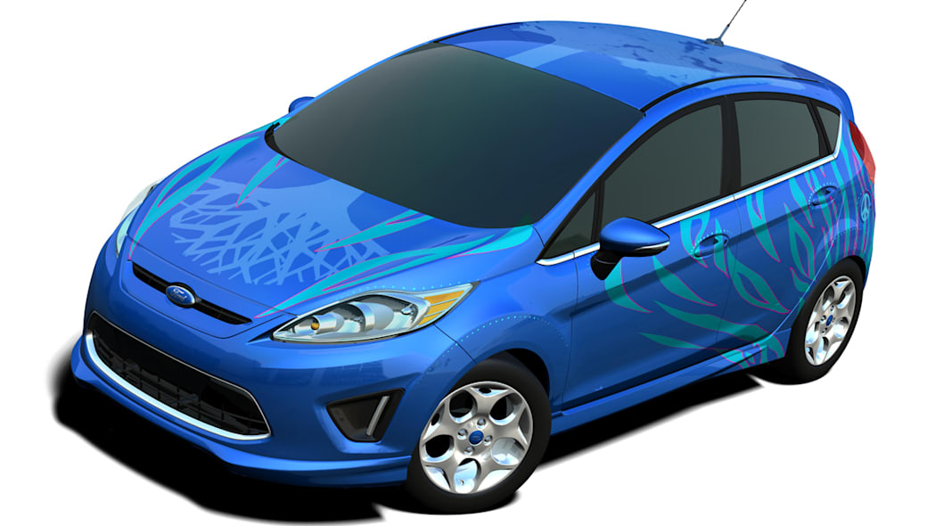 Paige Miles' Ford Fiesta
