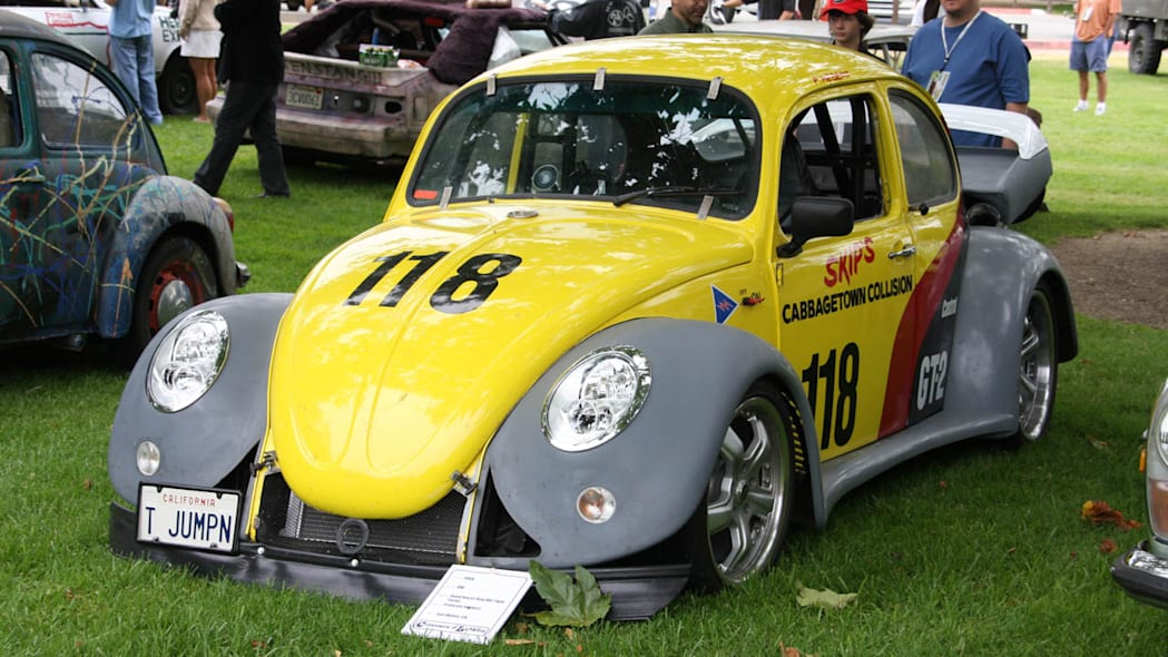 Rotary-powered Volkswagen Beetle