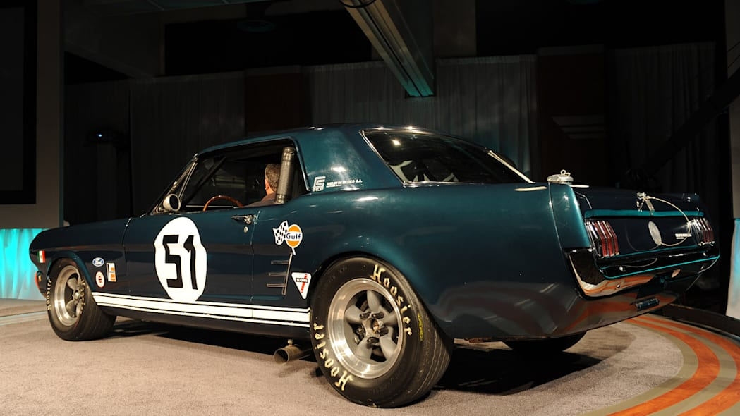 1961 Ford Mustang FIA race car