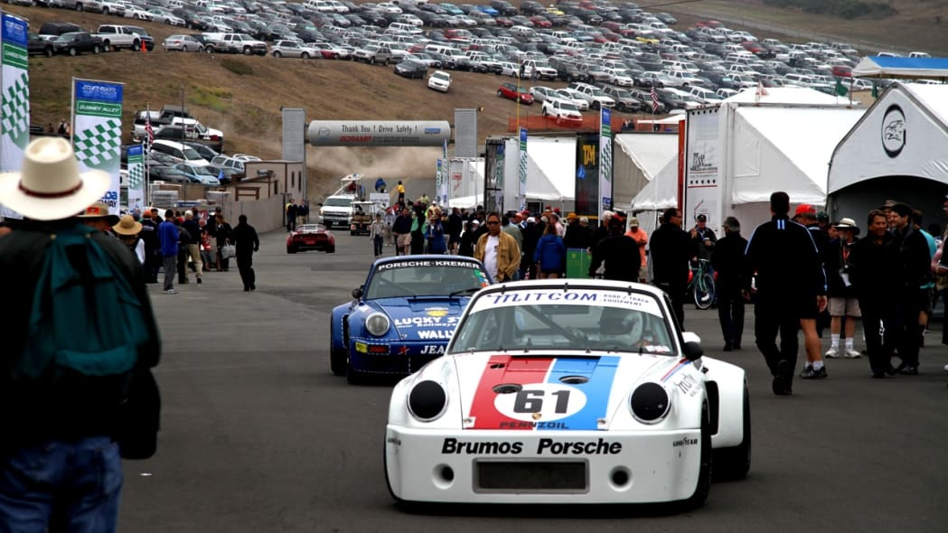Porsches on the prowl