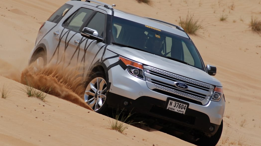2011 Ford Explorer being tested in Middle East