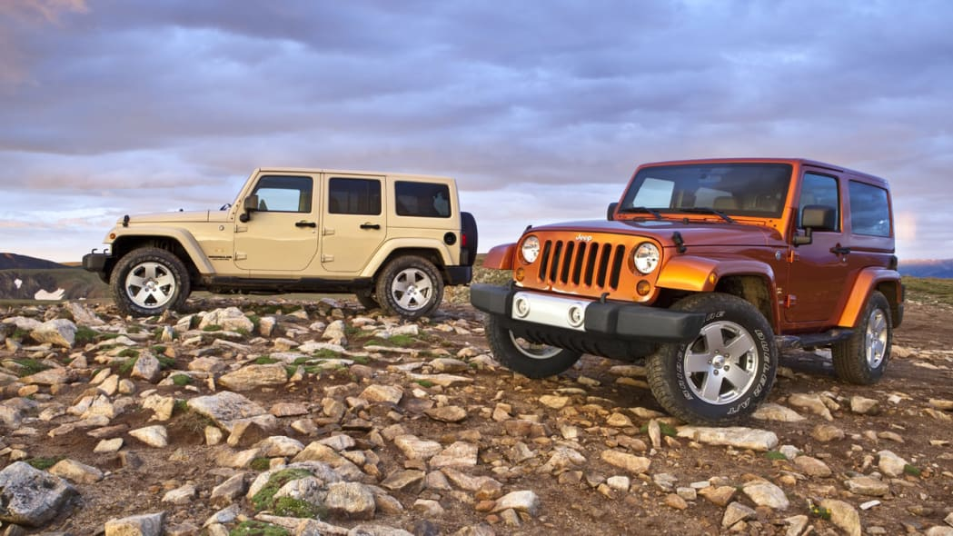 2011 Jeep Wrangler and Wrangler Unlimited