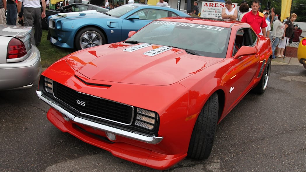 2010 Chevrolet Camaro with 1969 front clip