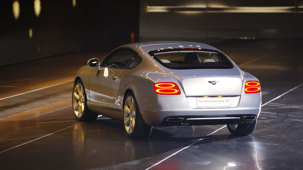 2011 Bentley Continental rear 3/4