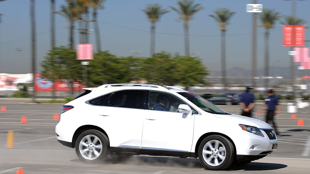 Lexus RX 350 at the Lexus Safety Experience
