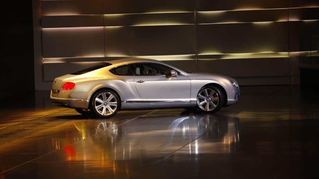 2011 Bentley Continental profile