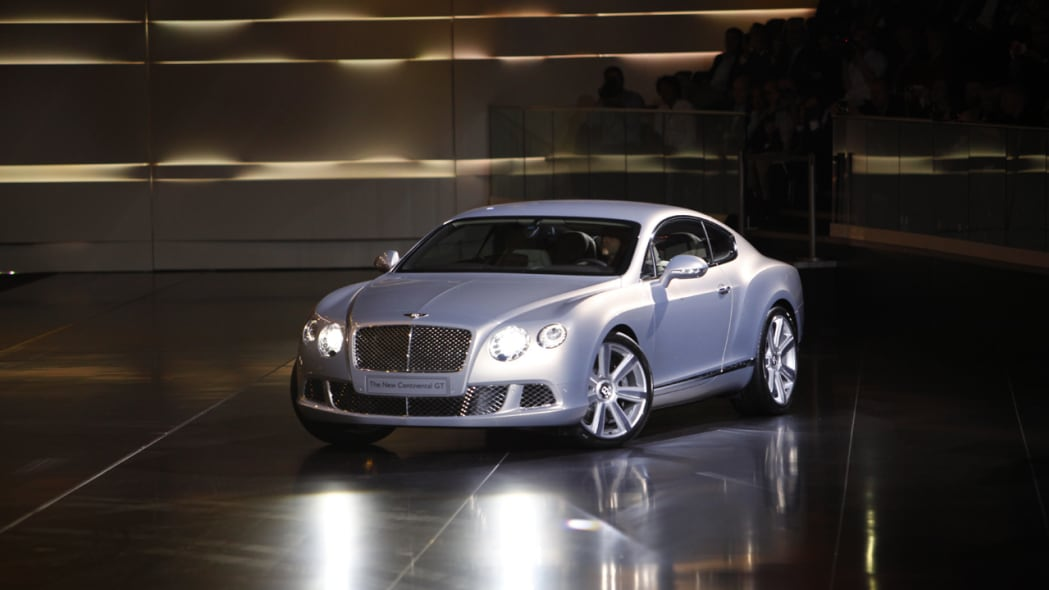2011 Bentley Continental front 3/4