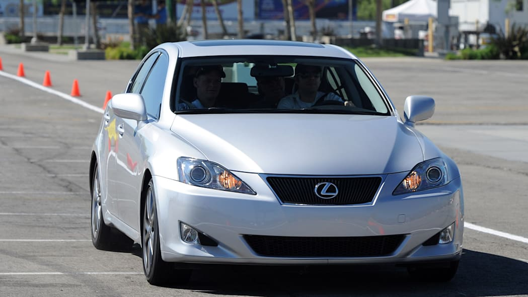 Lexus IS 350 at the Lexus Safety Experience