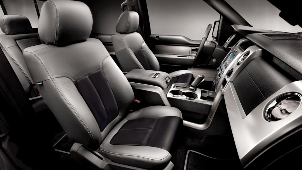 2011 Ford F-150 Lariat Limited interior
