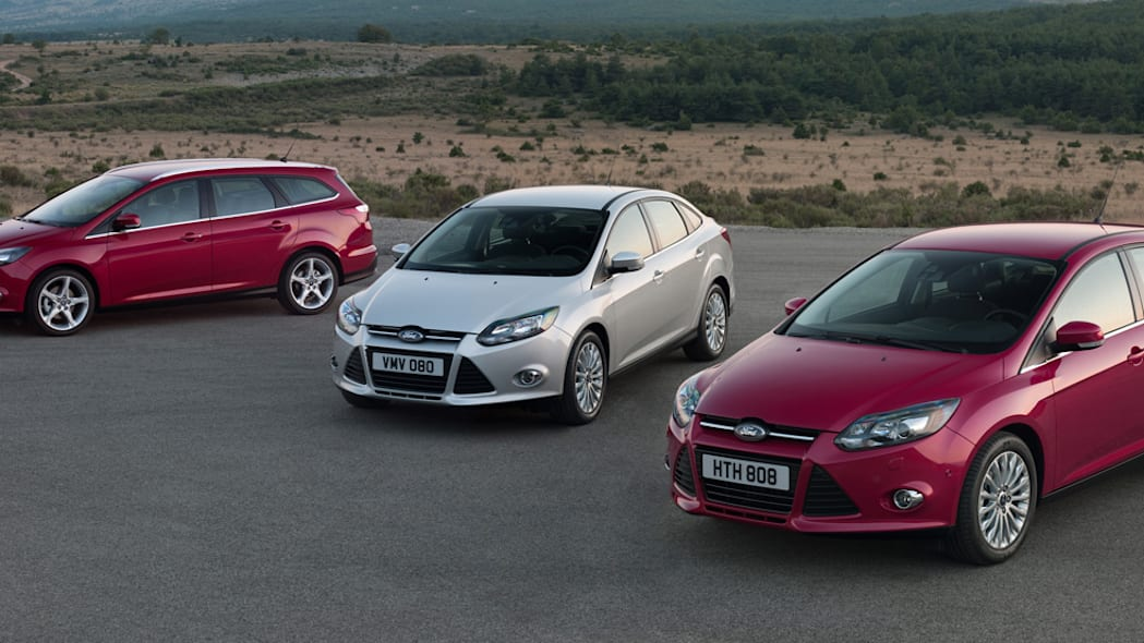 2012 Ford Focus lineup