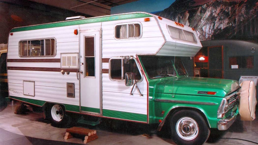 Ford Based Chassis Mount Motorhome, 1969