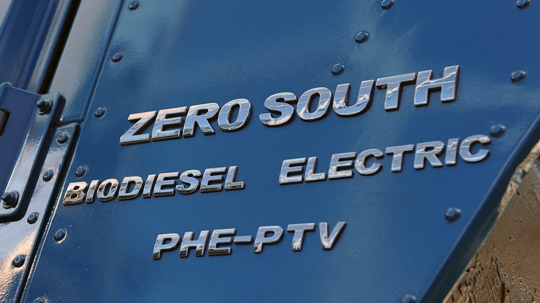 Zero South Biodiesel Electric Hummer