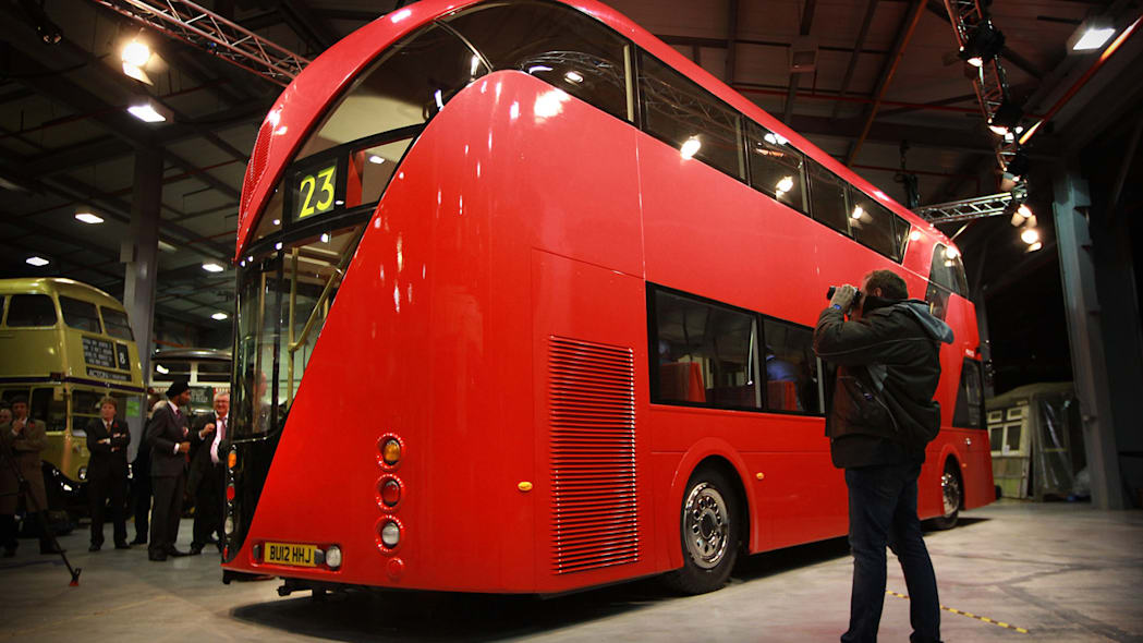 New Double-Decker Bus for London
