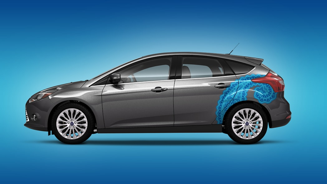 2012 Ford Focus shows off its tattoos