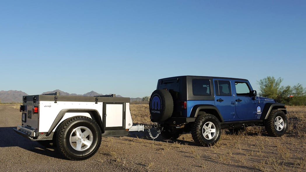 Jeep Extreme Trail Edition Camper