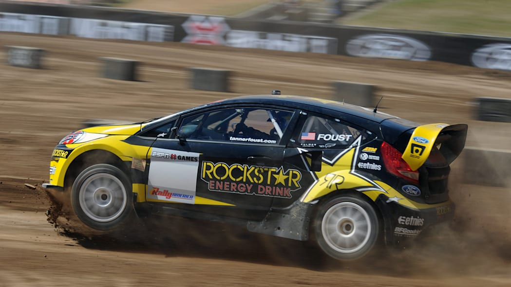 Tanner Foust's Ford Fiesta at X Games 16