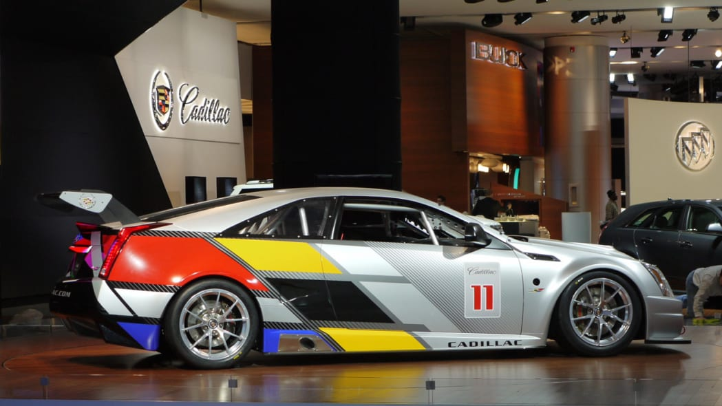 Cadillac CTS-V Coupe SCCA Race Car