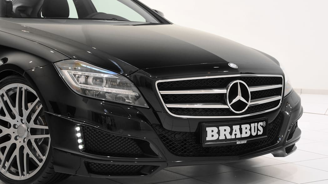 2012 Brabus CLS front close