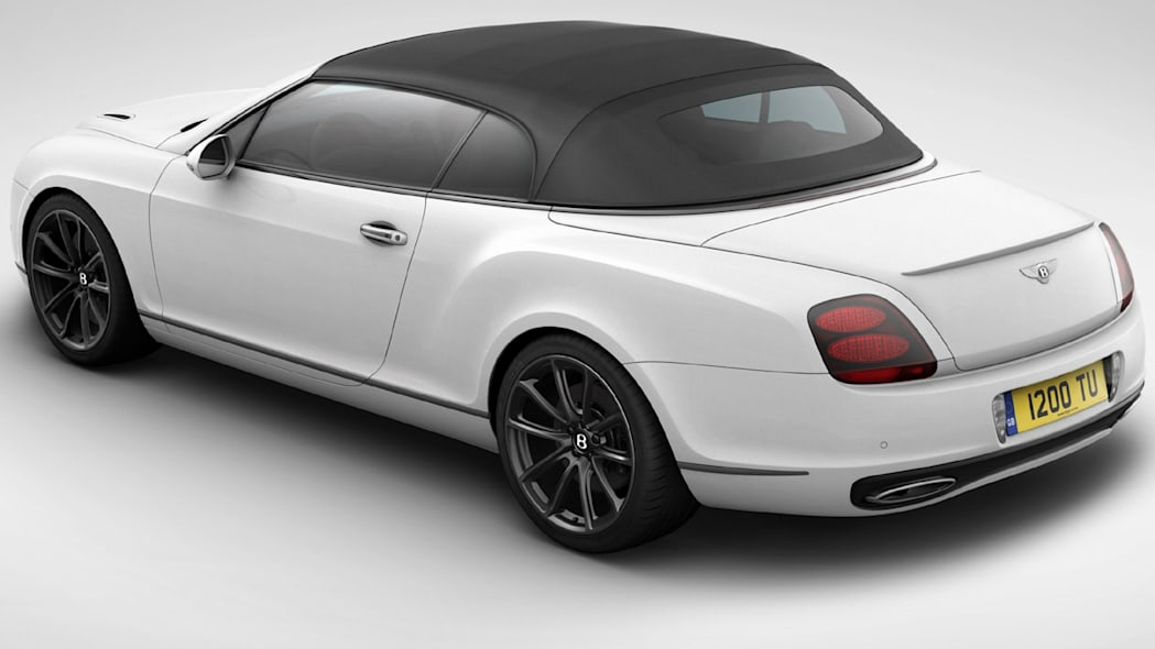 Bentley Continental Ice Speed Record rear